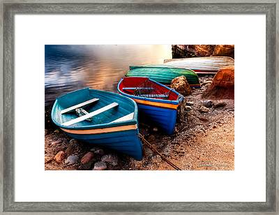 All Ashore Framed Print by Christopher Holmes