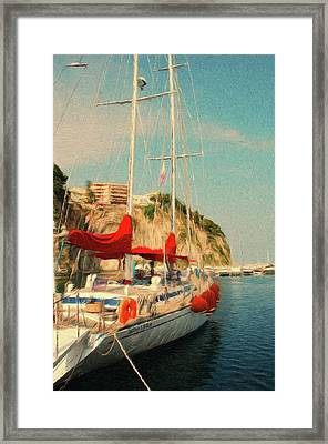 All Ashore Framed Print by Jeff Kolker