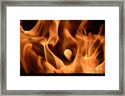 All-at845895 - Fire Cry Framed Print by Karl Thomas