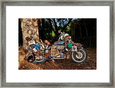 All But The Kitchen Sink Framed Print by Christopher Holmes