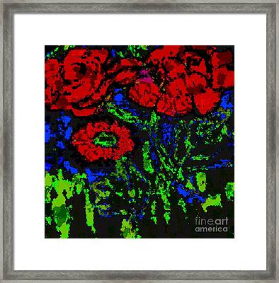 All For You Framed Print by Fania Simon
