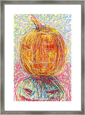 All Hallows Eve Framed Print by Robert Yaeger