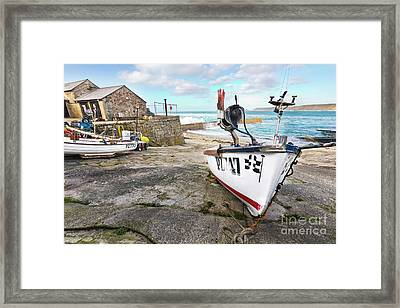 All Hands On Deck Framed Print by Terri Waters