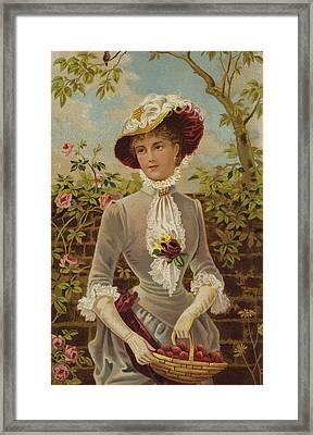 All In A Garden Fair Framed Print by English School