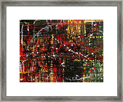 All My Worries Framed Print by Jeanne Wood