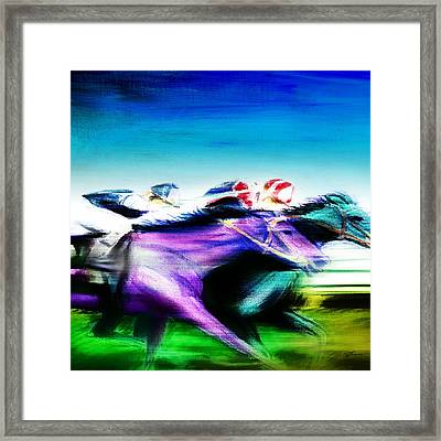 All Out 2 Framed Print by Shevon Johnson