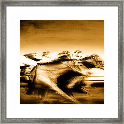 All Out Framed Print by Shevon Johnson