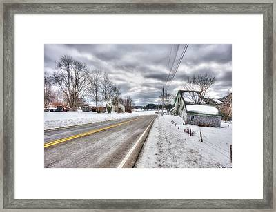 All Roads Lead To Where We Go Framed Print by Richard Bean