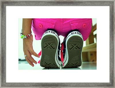 All Stars Framed Print by Ferry Zievinger