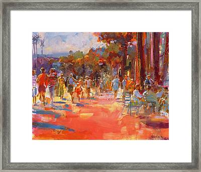 All Summer In A Day Framed Print by Peter Graham