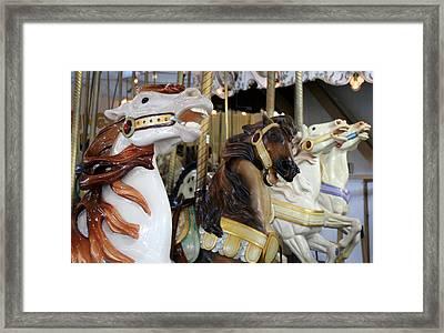 All The Pretty Horses Framed Print by Anne Babineau