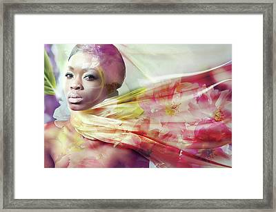 All Things About Summer-iii By Svetlana Imagineisle Framed Print by Svetlana Imagineisle