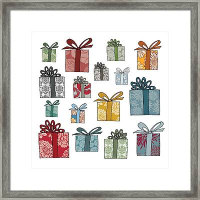 All Wrapped Up Framed Print by Sarah Hough