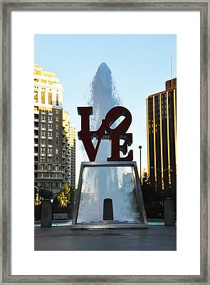 All You Need Is Love Framed Print by Bill Cannon