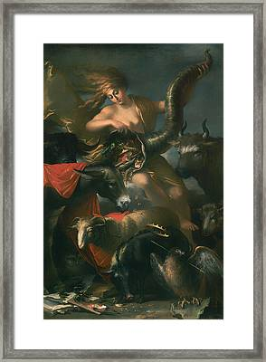 Allegory Of Fortune Framed Print by Mountain Dreams