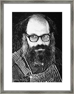 Allen Ginsberg Framed Print by Taylan Soyturk