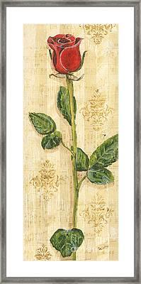Allie's Rose Sonata 2 Framed Print by Debbie DeWitt