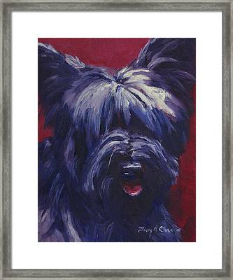 Ally #2 Framed Print by Terry  Chacon
