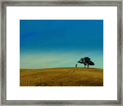 Almost Home Framed Print by Kerry Reed