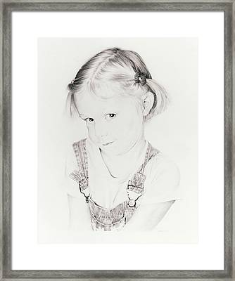 Almost Perfect Framed Print by Rachel Christine Nowicki