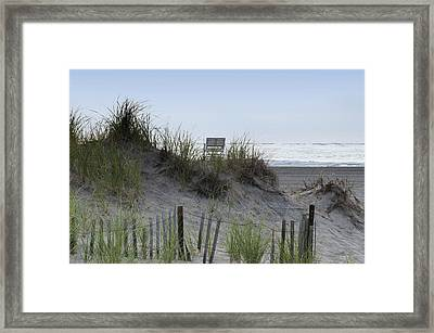 Almost To The Beach Framed Print by Bill Cannon