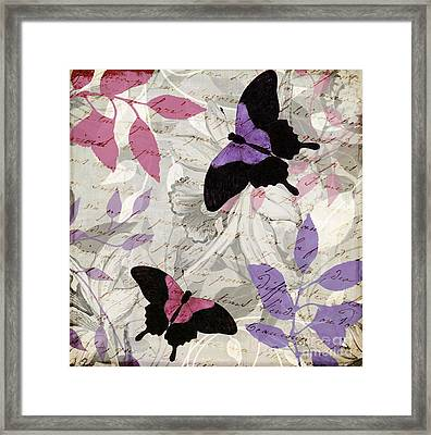 Aloft II Framed Print by Mindy Sommers
