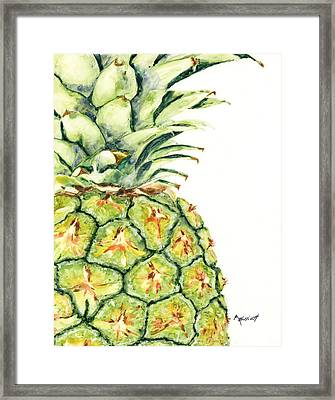 Aloha Again Framed Print by Marsha Elliott