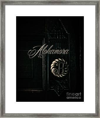 Alohamora Framed Print by Emily Kay