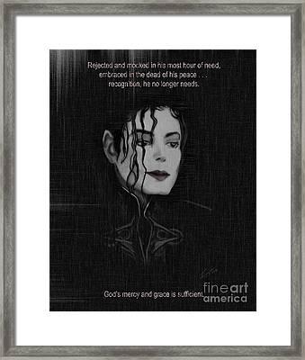 Alone In The Dark II Framed Print by Reggie Duffie