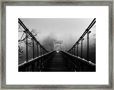 Alone-series Framed Print by Catalin Alexandru
