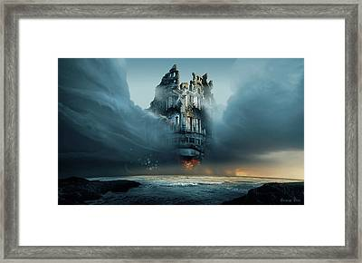 Along Ruined Soul Framed Print by George Grie