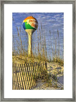 Along The Coast Of Pensacola Beach Framed Print by JC Findley