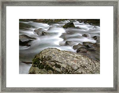 Along The River Framed Print by Jeff Swan