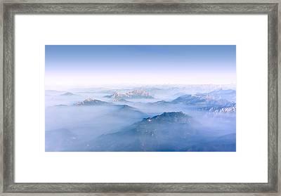 Alpine Islands Framed Print by Dmytro Korol