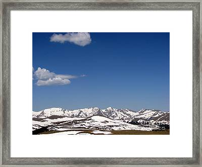 Alpine Tundra Series Framed Print by Amanda Barcon