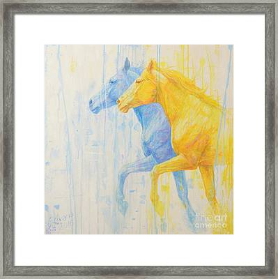 Alter Ego Framed Print by Silvana Gabudean