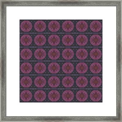 Altered States 1 - T J O D 27 Compilation Tile 36 Framed Print by Helena Tiainen