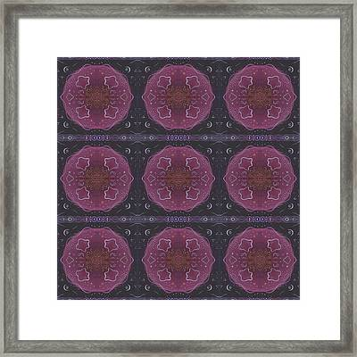 Altered States 1 - T J O D 27 Compilation Tile 9 Framed Print by Helena Tiainen