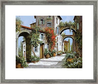 Altri Archi Framed Print by Guido Borelli