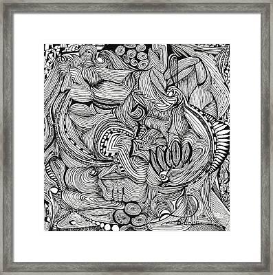 Amalgamate Framed Print by Ronda Breen