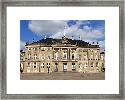 Amalienborg Palace. Framed Print by Terence Davis