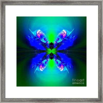 Amaltheia Brighthorn Framed Print by Raymel Garcia