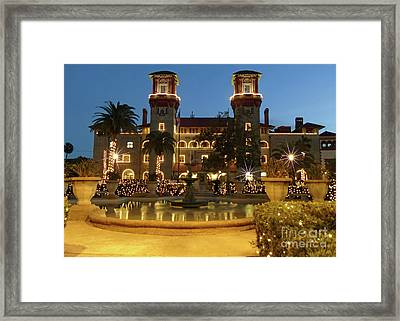 Amazing Night Of Lights Framed Print by D Hackett