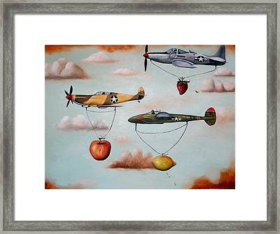 Amazing Race 2 Framed Print by Leah Saulnier The Painting Maniac