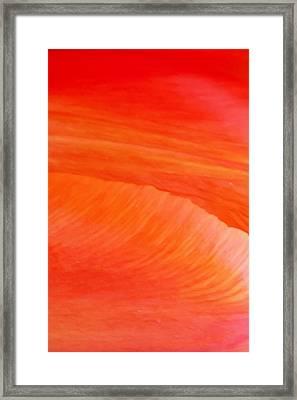 Amber Moods Framed Print by Az Jackson