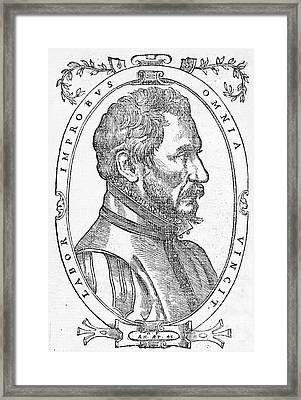 Ambroise Pare, French Surgeon, 1561 Framed Print by Wellcome Images