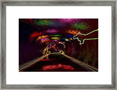 Ambush Framed Print by Garry Gay