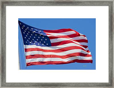 America Framed Print by Betsy Knapp