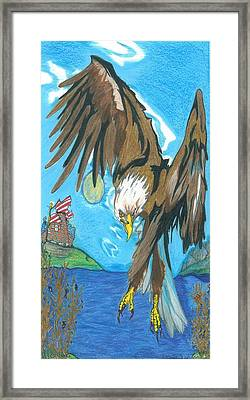 America... Framed Print by Justin Chase