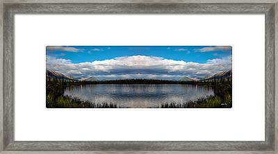America The Beautiful 2 - Alaska Framed Print by Madeline Ellis